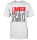 George Harrison Is My Spirit Animal Funny Beatles Fan Gift T-Shirt