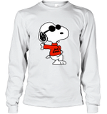 Snoopy Joe Cool Funny Dog Lover Gift For Movie Fan Long Sleeve T-Shirt
