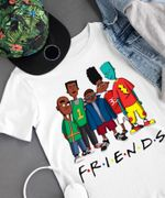 Official We Are Black Friends Tv Show T Shirt photo picture image