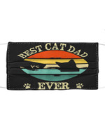 Best Cat Dad Ever Bump Fit Retro Vintage Gift