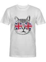 UK Union Jack British Flag England Cat Sunglasses