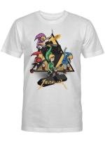 Zeldallica Zelda Link Metallica T-shirt Video Game And Music True Fasn
