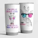 Think Different I'm Crazy Girl Who Loves Giraffe Alot