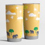 Giraffe lover gift idea tumbler