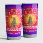 The tree of christmas together merry hallows tumbler