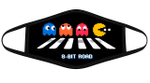 The 8 Bit Pac Man Gaming Funny Abbey Road Graphic