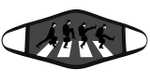Silly Road Monty Python Character Abbey Road mashup Graphic