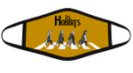 The Hobbits Characters Funny Abbey Road Graphic