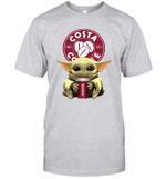 Baby Yoda Loves Costa Coffee The Mandalorian Fan T-Shirt