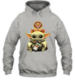 Baby Yoda Loves Jägermeister The Mandalorian Fan Hoodie