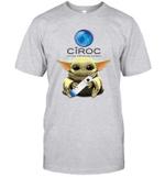 Baby Yoda Loves CIROC The Mandalorian Fan T-Shirt