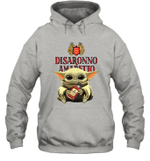 Baby Yoda Loves Disaronno The Mandalorian Fan Hoodie