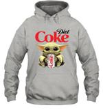 Baby Yoda Loves Diet Coke The Mandalorian Fan Hoodie