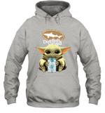 Baby Yoda Loves Dogfish Head Beer The Mandalorian Fan Hoodie