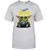 Baby Yoda Hug Toledo Rockets The Mandalorian T-Shirt