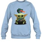 Baby Yoda Hug UAB Blazers The Mandalorian Sweatshirt
