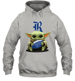 Baby Yoda Hug Rice Owls The Mandalorian Hoodie