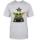 Baby Yoda Hug Vanderbilt Commodores The Mandalorian T-Shirt