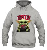 Baby Yoda Hug UNLV Rebels The Mandalorian Hoodie