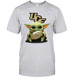 Baby Yoda Hug UCF Knights The Mandalorian T-Shirt