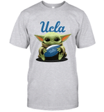 Baby Yoda Hug UCLA University of California Los Angeles The Mandalorian T-Shirt