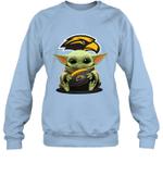 Baby Yoda Hug Southern Miss Golden Eagles The Mandalorian Sweatshirt