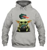 Baby Yoda Hug UAB Blazers The Mandalorian Hoodie