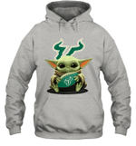 Baby Yoda Hug South Florida Bulls The Mandalorian Hoodie