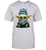Baby Yoda Hug Old Dominion Monarchs The Mandalorian T-Shirt
