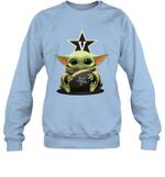 Baby Yoda Hug Vanderbilt Commodores The Mandalorian Sweatshirt