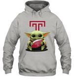 Baby Yoda Hug Temple Owls The Mandalorian Hoodie
