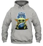 Baby Yoda Hug Old Dominion Monarchs The Mandalorian Hoodie