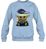 Baby Yoda Hug UTSA Roadrunners The Mandalorian Sweatshirt