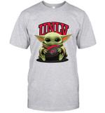Baby Yoda Hug UNLV Rebels The Mandalorian T-Shirt