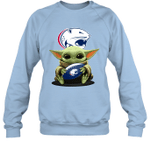 Baby Yoda Hug South Alabama Jaguars The Mandalorian Sweatshirt