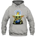 Baby Yoda Hug San Jose State Spartans The Mandalorian Hoodie