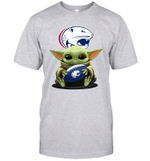 Baby Yoda Hug South Alabama Jaguars The Mandalorian T-Shirt