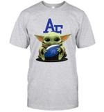 Baby Yoda Hug Air Force Falcons The Mandalorian T-Shirt