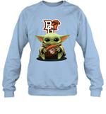 Baby Yoda Hug Bowling Green Falcons The Mandalorian Sweatshirt