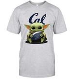 Baby Yoda Hug California Golden Bears The Mandalorian T-Shirt