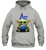 Baby Yoda Hug Air Force Falcons The Mandalorian Hoodie