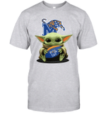 Baby Yoda Hug Memphis Tigers The Mandalorian T-Shirt