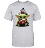 Baby Yoda Hug New Mexico State Aggies The Mandalorian T-Shirt