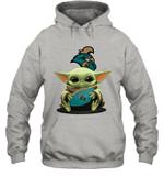 Baby Yoda Hug Coastal Carolina Chanticleers The Mandalorian Hoodie