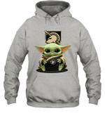 Baby Yoda Hug Army Black Knights The Mandalorian Hoodie