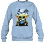 Baby Yoda Hug Georgia Southern Eagles The Mandalorian Sweatshirt