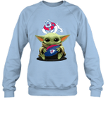 Baby Yoda Hug Fresno State Bulldogs The Mandalorian Sweatshirt