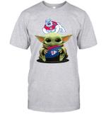 Baby Yoda Hug Fresno State Bulldogs The Mandalorian T-Shirt