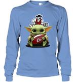 Baby Yoda Hug New Mexico State Aggies The Mandalorian Long Sleeve T-Shirt