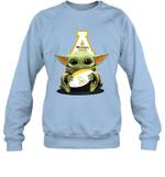 Baby Yoda Hug Appalachian State Mountaineers The Mandalorian Sweatshirt